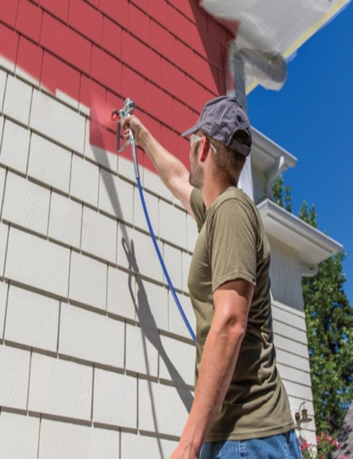 Exterior Painting Services in Chicagoland and the Illinois Area